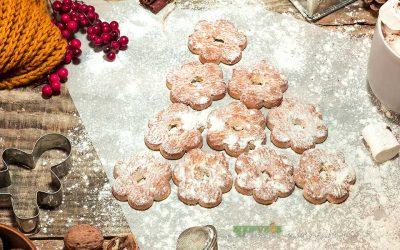 Направете си здрави ѓумбирови божиќни колачиња
