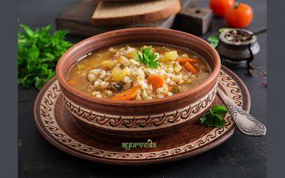 Ајурведска јачменова супа за слабеење