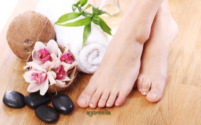 Ајурведска ѓумбирова бања за стапалата за брза детоксикација